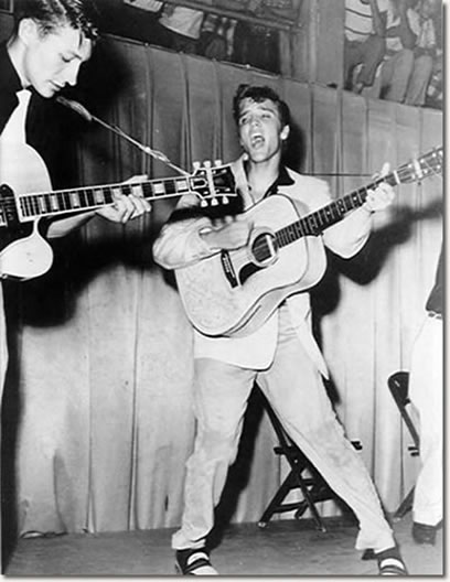 Elvis Presley Fort Homer W. Hesterly Armory, Tampa, FL July 31, 1955