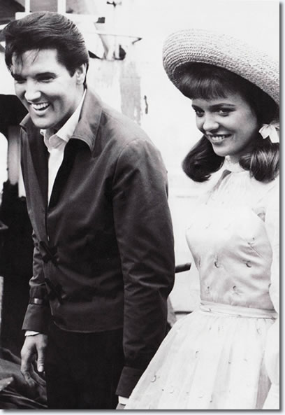 Elvis Presley and Annette Day