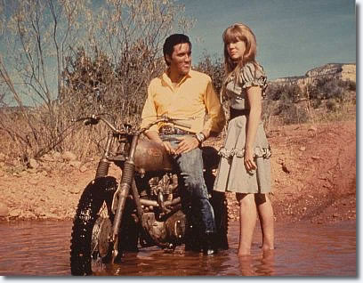 Elvis and Quentin Dean in Stay Away, Joe