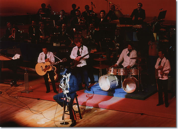 Elvis Presley live on stage 1969