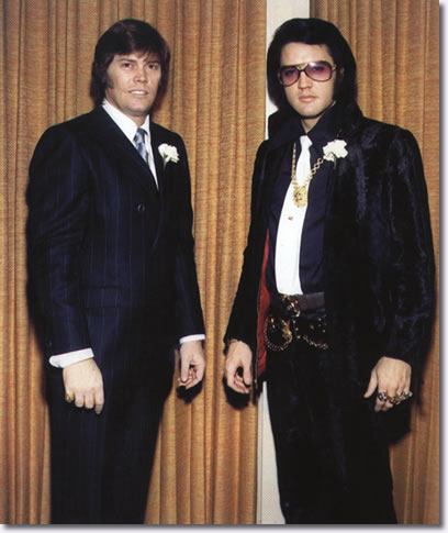 Sonny West and Elvis Presley - Sonny's Wedding December 28, 1970