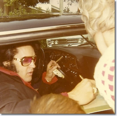 Elvis Presley - In his Stutz - November 1970
