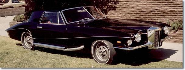 Elvis' 1971 Stutz Blackhawk - this time a production model