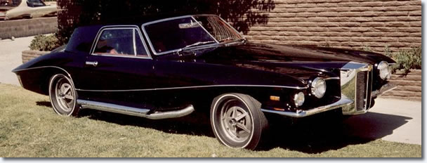 Elvis' 1971 Stutz Blackhawk - this time a production model