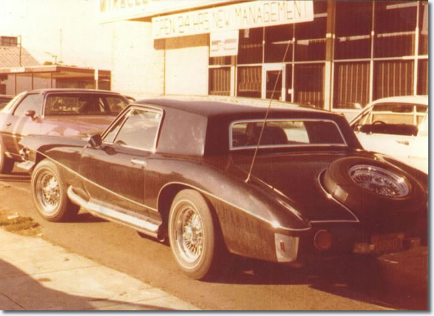 Elvis' 1971 Stutz Blackhawk production model