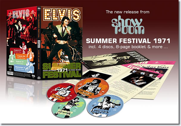 1971 Summer Festival 4 CD Box Set