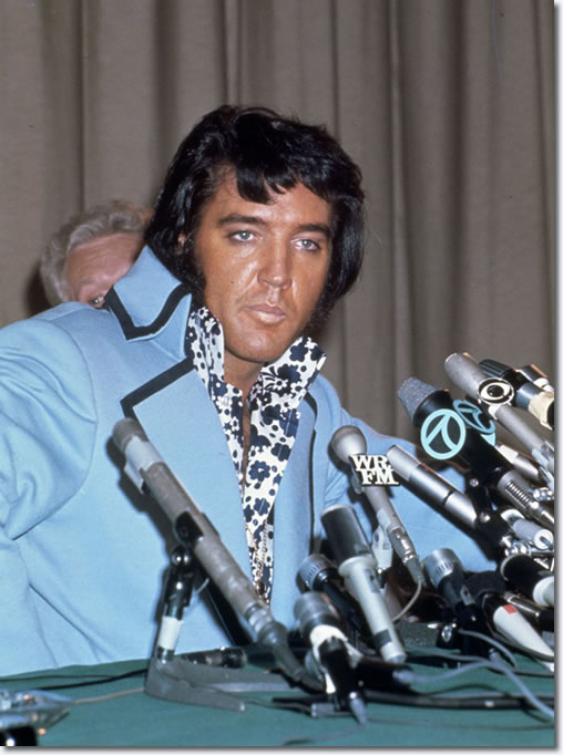Elvis Presley – The 1972 Madison Square Garden Press Conference