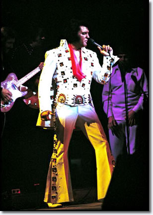 Elvis Presley at Madison Square Garden 1972