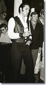 Elvis sings 'It hurts Me' to Col. Parker. From the Production of the '68 Special