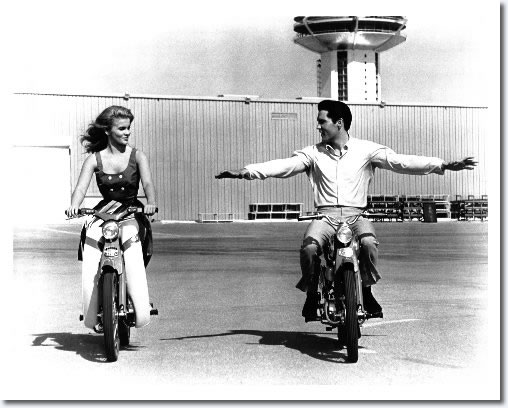 Ann-Margret and Elvis Presley in 'Viva Las Vegas'.