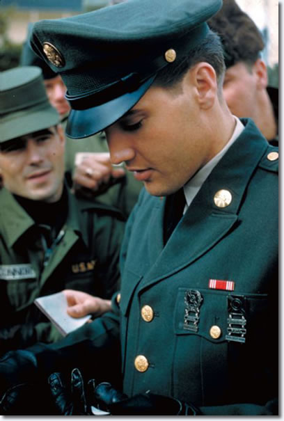 Elvis in the US Army