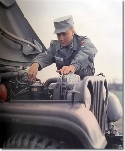Elvis in the US Army - Publicity photo