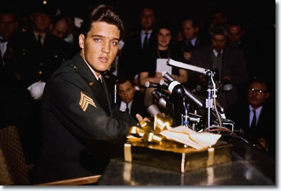 Sergeant Elvis Presley