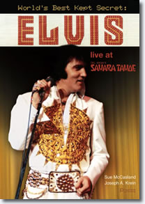 Elvis live at Del Webb's Sahara Tahoe
