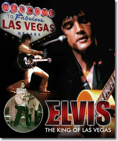 Elvis : The King Of Las Vegas Book