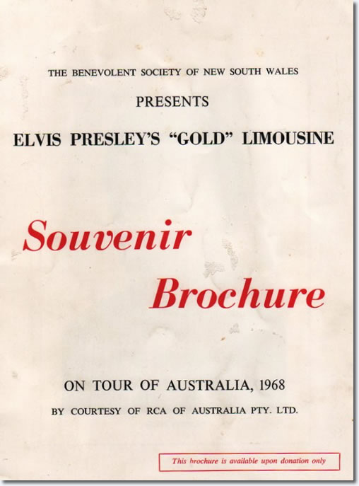 Souvenir brochure (16 pages in 7'x 9' format).