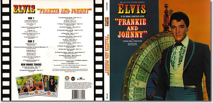 Frankie And Johnny FTD CD