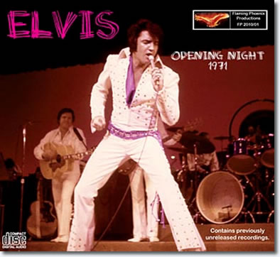 Opening Night 1971 CD
