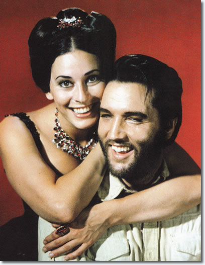 Ina Balin and Elvis Presley in Charro! - From the book, Elvis Presley as The One Called Charro