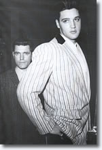 Charlie Hodge & Elvis Presley from the book 'Elvis In Munich'
