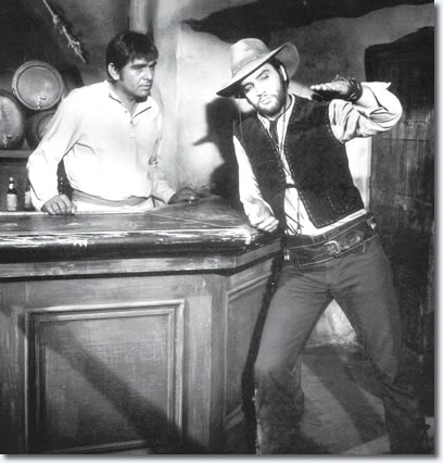 Elvis Presley in Charro! From the book, Elvis Presley as The One Called Charro!