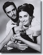 Elvis Presley & Ina Balin in Charro! From the book, Elvis Presley as The One Called Charro!