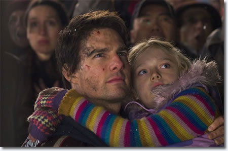 Tom Cruise and Dakota Fanning - 'War of the Worlds'