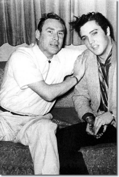 Dewey Phillips & Elvis Presley