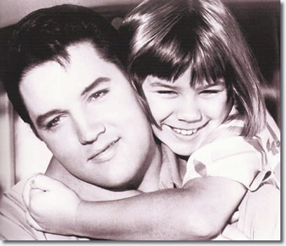 Elvis Presley and Donna Butterworth