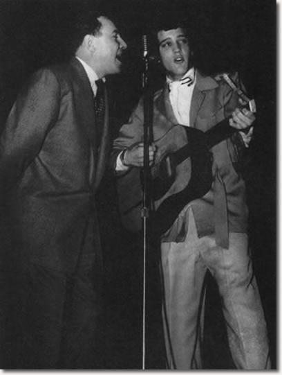 Dewey Phillips & Elvis Presley Ellis Auditorium, Memphis February 6, 1955