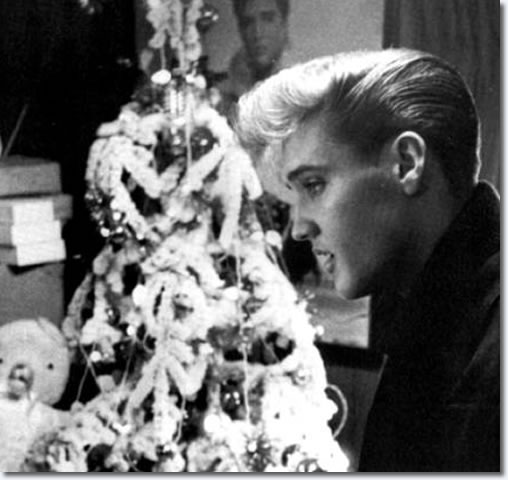 Elvis at Graceland, Christmas 1957.