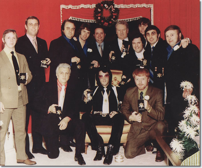 Elvis Presley and The Mempis Mafia - December 1970