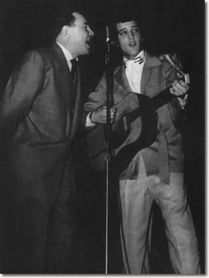 Dewey Phillips & Elvis Presley Ellis Auditorium, Memphis February 6, 1955