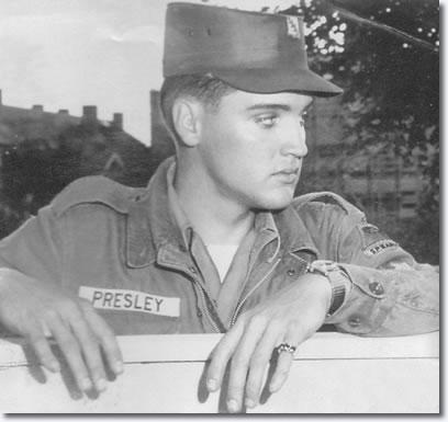 Elvis Presley in the U.S. Army