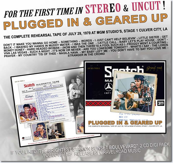 Elvis : Plugged In & Geared Up