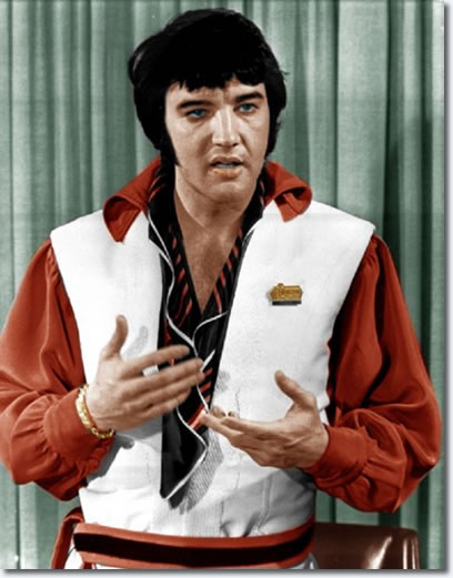 Elvis Presley : The Houston Press Conference : February 25, 1970.