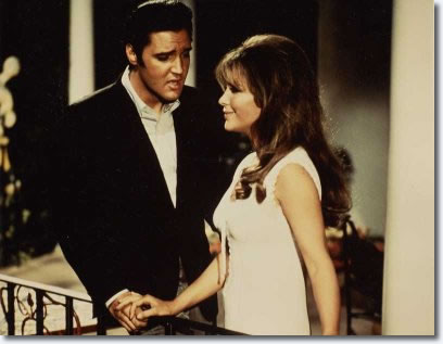 Elvis Presley and Michele Carey. Live A Little Love A Little : MGM 1968.