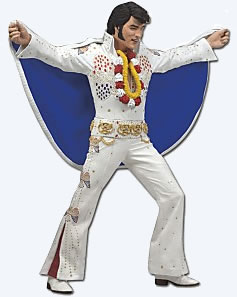 Aloha Elvis Presley Action Figure