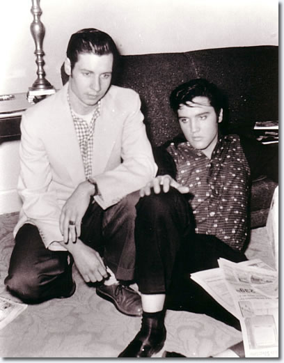 Glen Glenn and Elvis Presley