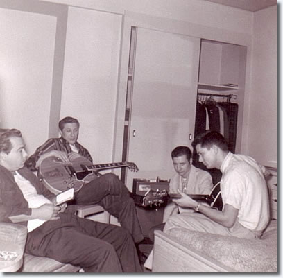 Bill Black, Scotty Moore, Glen Glenn, Gary Lambert