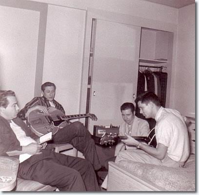 Bill Black, Scotty Moore, Glen Glenn, Gary Lambert
