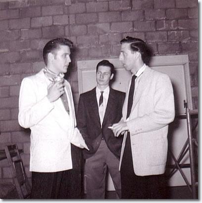 Elvis Presley, Glen Glenn & DJ Fontana