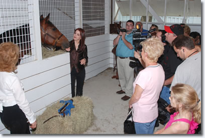 Graceland Stable Opens for Tours, Priscilla Presley to Give First Tour