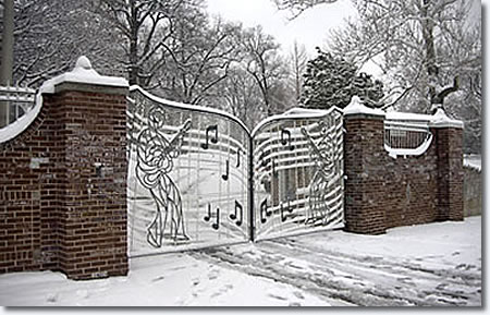 The Graceland Gates