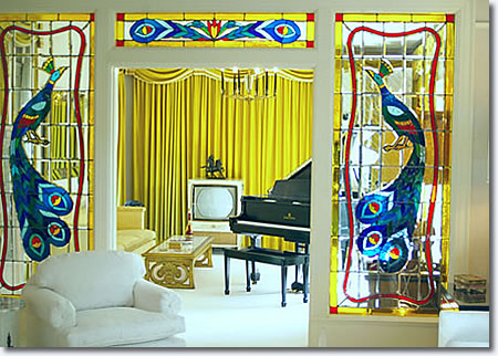 The Music Room at Graceland