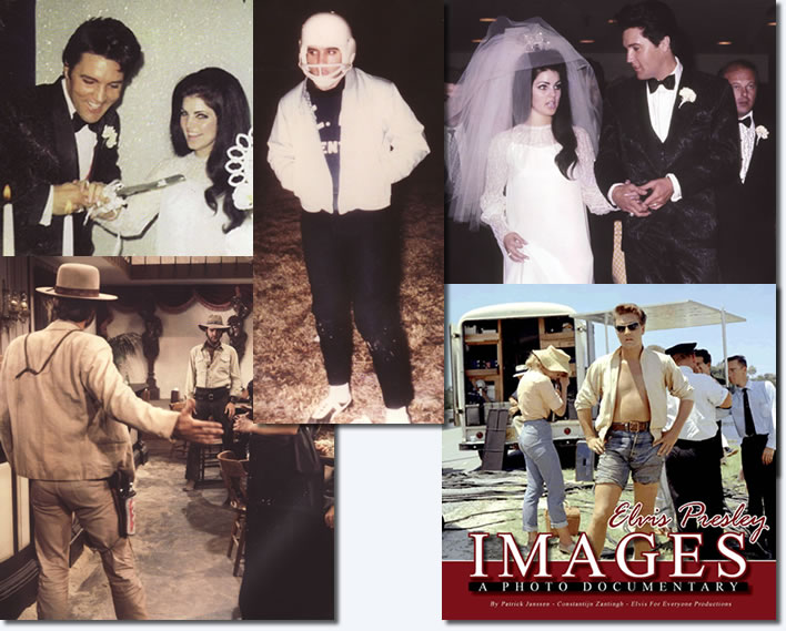 Sample images from the book - Elvis Presley Images - Copyright Patrick Janssen