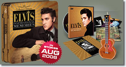 Elvis Presley: Inspirational Memories Collector's Edition Tin