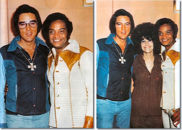 Jackie Wilson & Elvis Presley