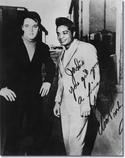 Elvis Presley and Jackie Wilson 1966