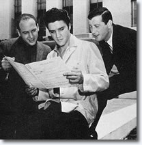 Jerry Leiber, Elvis and Mike Stoller